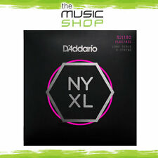 D'Addario NYXL 32-130 6 String, Long Scale Bass Guitar Strings - Daddario