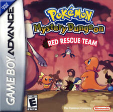 Pokemon Mystery Dungeon Red Rescue Team GBA Great Condition Fast Shipping