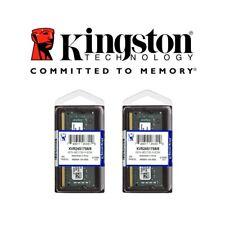 2X MEMORIA RAM PC COMPUTER PORTATILE DDR4 8GB KINGSTON KVR24S17S8/8 2400MHZ-