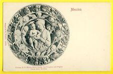 cpa Rare Dos 1900 MESSINA CHIESA di S. Maria della Scala La VERGINE col Figlio