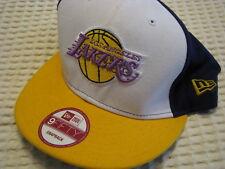 Los Angeles Lakers NBA Basketball Ball Cap Hat New Era Hardwood Classics