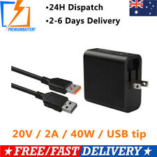 AC Power Adapter Charger Cable For Lenovo Yoga 3 Pro ADL40WLA 20V 2A