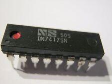 5 x DM74175N, Hex / Quad D-Flip-Flops mit Clear+Doppel-Rail-Ausgänge 5 St= 2,49€