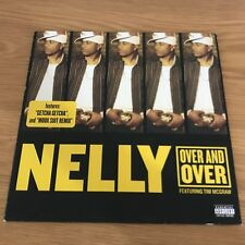 "Nelly - Over And Over - 12"" Single - UNPLAYED - Discount For 2+"