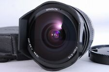 MINT Minolta AF 16mm F/2.8 Fish-eye for Sony Alpha Wide Angle w/ Case From Japan