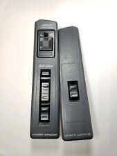 1990-92 Infiniti M30 Master Window & Mirror Switch Tested SET