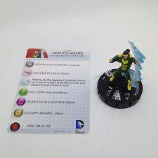 Heroclix The Flash set Weather Wizard #040 Rare figure w/card!