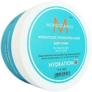 Moroccanoil Weightless Hydrating Mask 500ml 16.9 fl.oz FREE SHIPPING WORLDWIDE