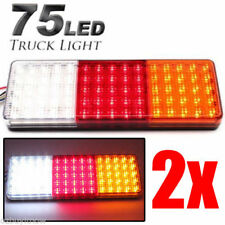 502X 12-24V 75 LED Tail Lights Ute Trailer Caravan Truck Boat Stop Indicator