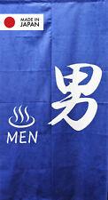 Japanese Door Curtain Noren Doorway Decor Curtain Men Onsen Bath