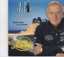 Koos Alberts-Adios Amor cd single
