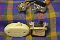 Lot of 4 Vintage Switches-ARROW H7H, Leviton, Gayner, Carling