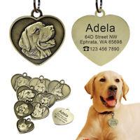 Hundemarken Personalisiert Erkennungsmarken Gravur Namen&Telefon Adressanhänge