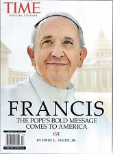 TIME MAGAZINE SPECIAL: FRANCIS (2015) POPE FRANCIS MESSAGE - NEW - FREE SHIP!