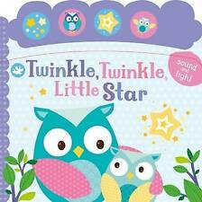 Little Learners Twinkle, Twinkle, Little Star: Sound and Light by Parragon (Board book, 2016)