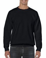 Gildan 18000 Plain Blank Pullover Mens Casual Sports Ultra Cotton Sweat Jumper