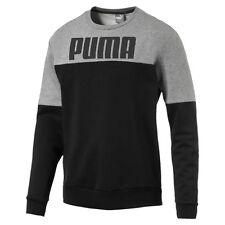 Puma Rebelblock Crew FL Felpa Uomo Nero XL (m2s)