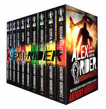 Alex Rider Collection 10 Book Set Pack Anthony Horowitz Young Spy Children Novel