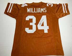 Ricky Williams Signed Texas Longhorns Football Jersey JSA WIT145313