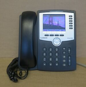 Linksys SPA962 6-Line PoE IP Business Desktop Display Telephone Without Stand