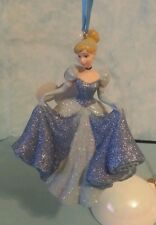 "Disney Parks Princess ""Cinderella"" Christmas Holiday Resin Ornament (NEW)"