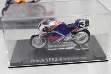 Modellino moto  Honda NSR250 Sito Pons 1988 1/24