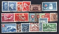 Switzerland used collection Cat Val £130+ WS11806