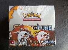 Pokémon Display scellé Boite de 36 boosters  Soleil et Lune