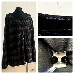 Gudrun Sjoden cardigan size M long sleeve, pockets, buttoned
