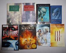 8 Lot Fantasy Books, J.R.R.Tolkien, Ted Dekker, C.S. Lewis,Christopher Paolini++