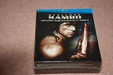Rambo Trilogy (Blu-ray Disc, 2008, 3-Disc Set) *Brand New Sealed*