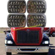 4PCS LED Headlights For International IHC Headlight Assembly 9200 9400i 9900 AAA