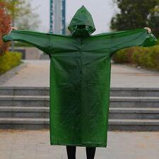 Raincoat Cape Multi-use Jacket Outdoor Working Cycling Rainwear PVC Rain Coats
