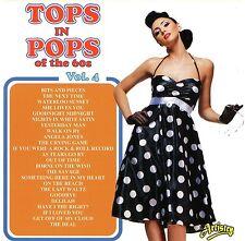 TOPS IN POPS LAURA LEE TONY STEVEN LOIS LANE MARTIN JAY BRITISH COVER VERSIONS
