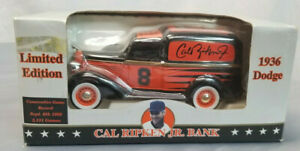 New In Box! Cal Ripken Jr 1936 Dodge Bank 3915 Of 5000 Diecast Collectable