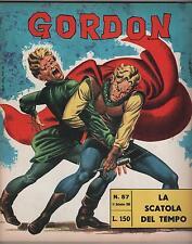 GORDON fratelli spada N.57 LA SCATOLA DEL TEMPO flash f.lli dan barry 1966