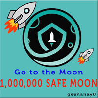 1,000,000 SafeMoon (SAFEMOON) - MINING CONTRACT - Crypto Currency FAST DELIVERY