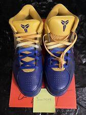 2009 DS Nike Zoom Kobe 4 IV Sz.11 4 Four Rings Quickstrike Mamba Bryant Lakers