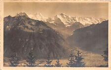 BR36481 Harder Blick auf Erger Monch Jungfrau      Switzerland