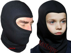 Thermoactive SKI BALACLAVA under helmet BREATHABLE - Mens Womens Kids QUALIT
