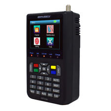 Digital V9 Satellite Finder Signal Meter MPEG-2/MPEG-4 H.265 FTA Full 1080P .