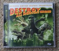 Destroy All Monsters Motion Picture Soundtrack movie CD