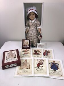 Pleasant Company Felicity 1993 Meet Outfit Necklace Purse Books American Girl