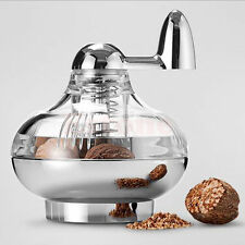 Portable Nutmeg grinder rotary manual spice grinding device and grinding bottle