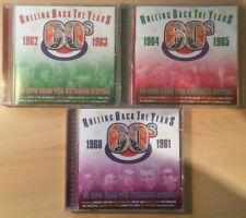 "Various Artists ""Rolling Back The Years 1960-65"" 3CDs *60 Tracks* Good Condition"