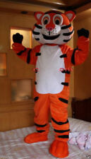 New Professional Happy Tiger Mascot Costume Unisex Adult Size Fancy Dress