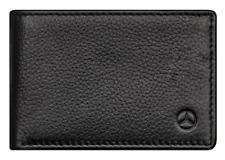 Original Mercedes-Benz Minigeldbörse Herren schwarz Rindleder B66953718