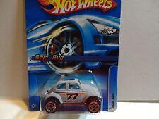 2005 Hot Wheels #161 Flat Grey VW Baja Bug w/U5 Spoke Wheels