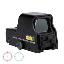 Spike Matt Black Tactical 1X22mm Holographic Reflex Red Green Dot Sight Outdoor