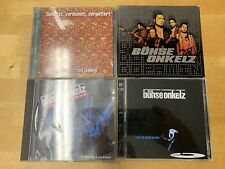4 CD?s Alben von den Böhsen Onkelz